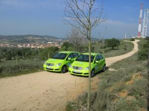 Mercedes B-Klasse F-Cell Brennstoffzellenantrieb